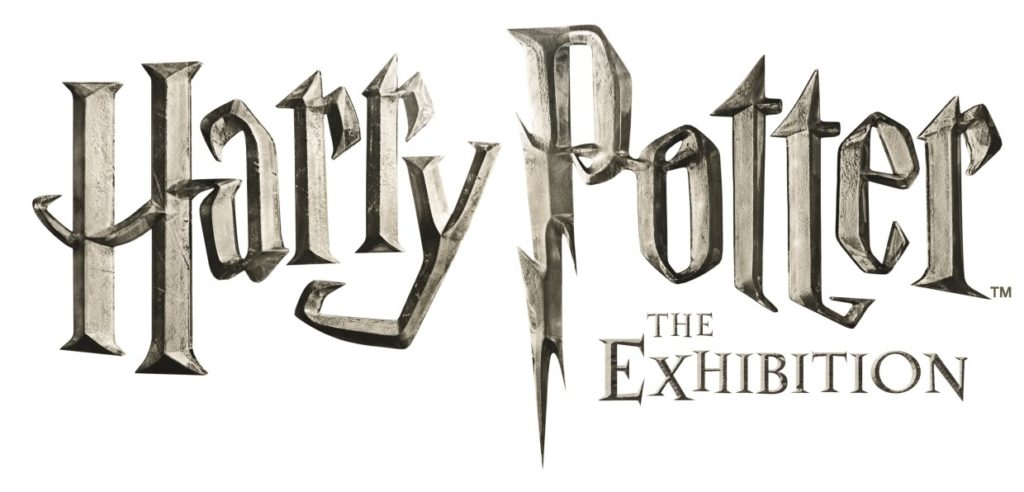 hp_exhibition_cmyk-logo-white - (C) Warner Bros/Mojo
