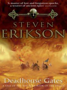 Mijn vijf favoriete fantasyboeken Deadhouse Gates, Steven Erikson
