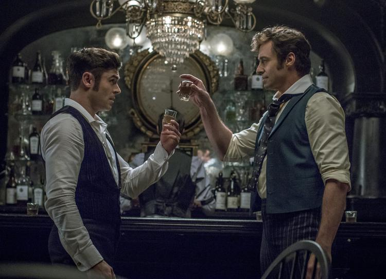 The Greatest Showman winactie barscene
