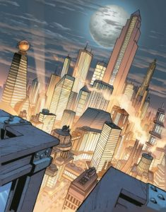 Fantasize Week Almanak 2018 - Week 5 Metropolis