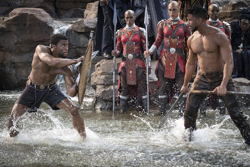 Black Panther - combat