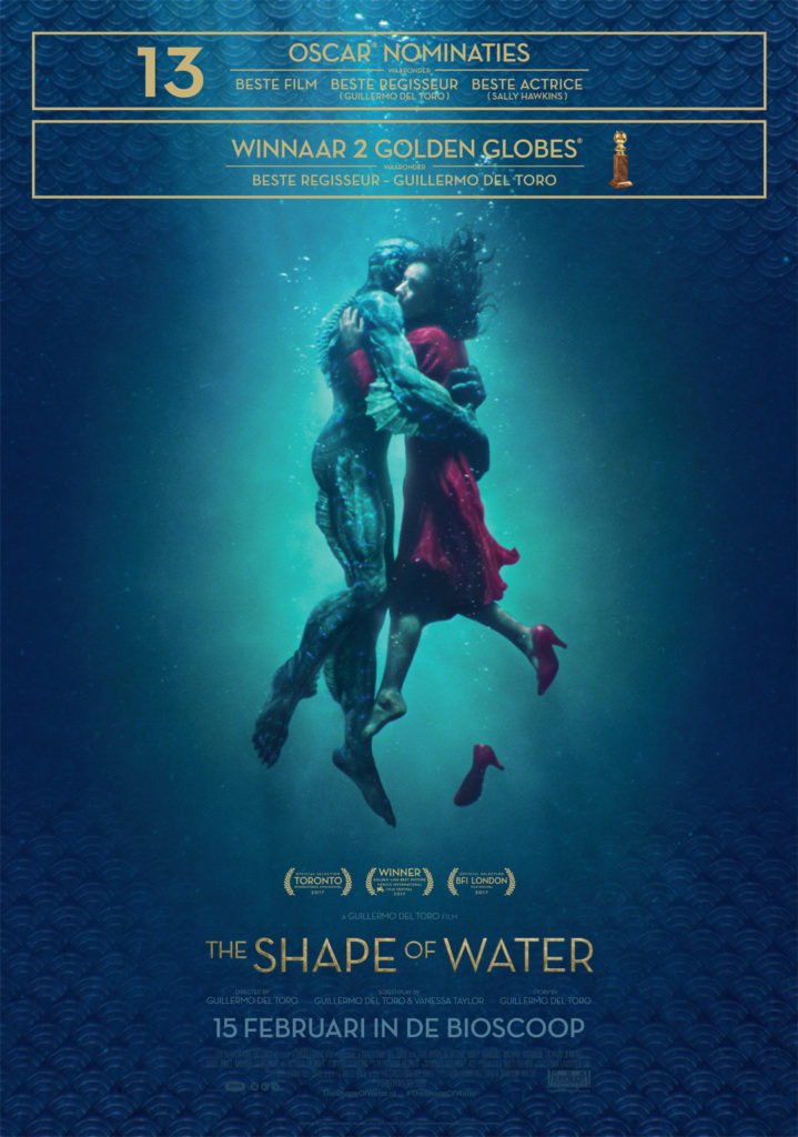 The Shape of Water winactie - poster