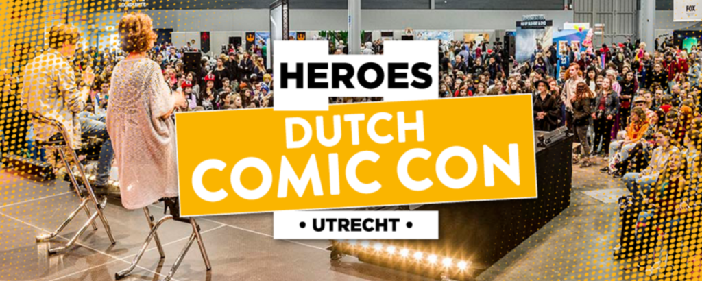 Dutch Comic Con 2018 winactie logo