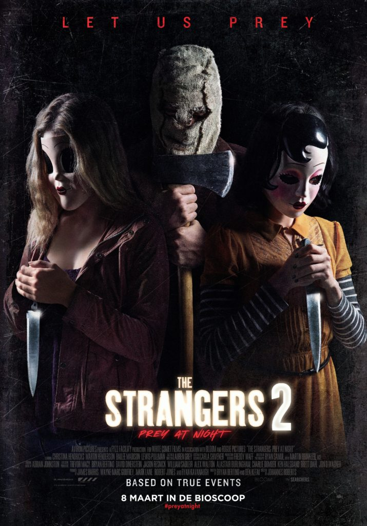 The Strangers 2: Prey at Night winactie poster
