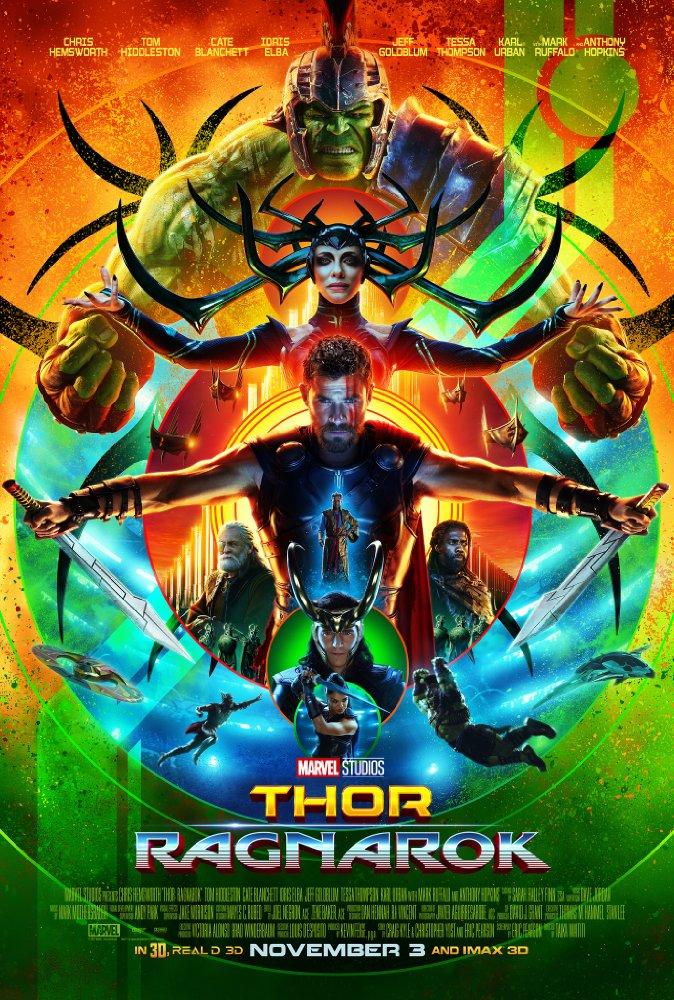Thor: Ragnarok op DVD en Blu-Ray winactie Poster