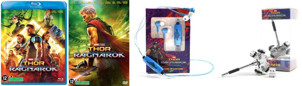 Thor: Ragnarok op DVD en Blu-Ray winactie prijzen