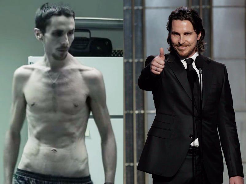 Christian Bale-The machinist